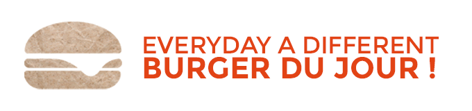 A different burger everyday