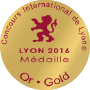 GOLD, 2016 Concours International de Lyon (France)