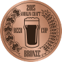 BRONZE, 2015 Dublin Craft Beer Cup (Ireland)