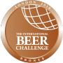 BRONZE, 2016 International Beer Challenge (UK)