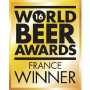 'GAGNANT FRANCE', 2016 World Beer Awards (UK)