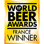 'GAGNANT FRANCE', 2017 WORLD BEER AWARDS