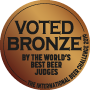 BRONZE, 2019 International Beer Challenge (UK)