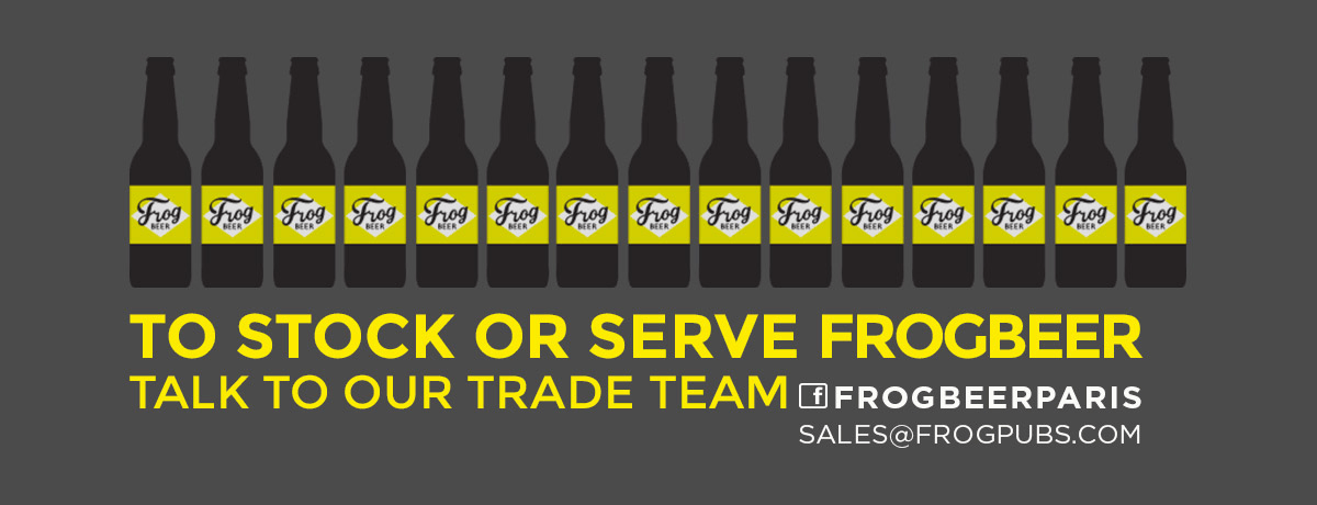 To Stock or Serve FrogBeer, Talk to our Trade Team.